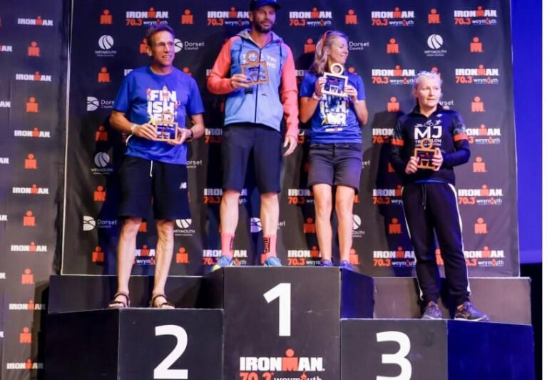 Claire Poole – Ironman Podium